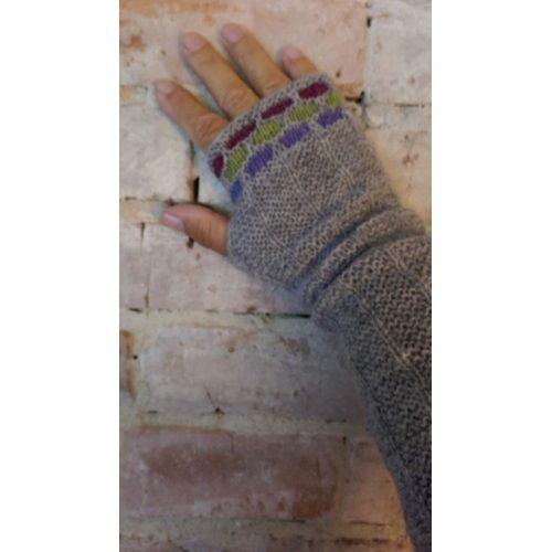 Umbrella håndledsvarmere - Færdigstrik