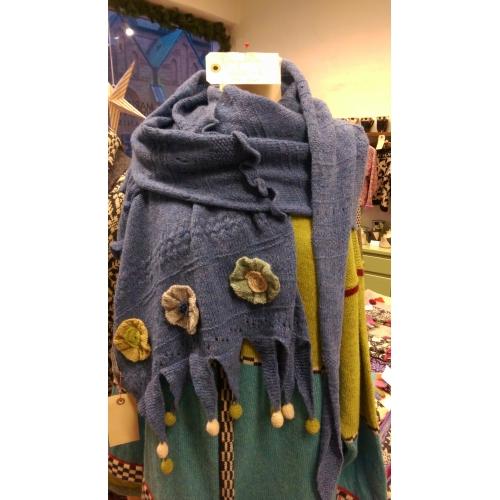 Drage Tørklæde - Strikkekit