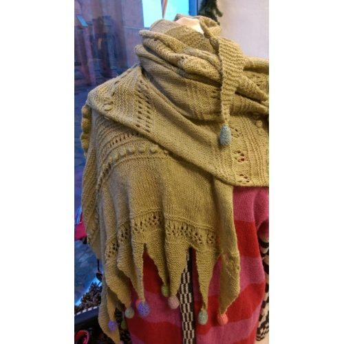Drage Tørklæde - Færdigstrik