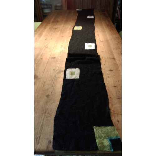 Model Signal Halstørklæde - Færdigstrik